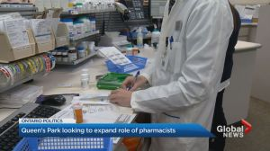 Ontario government to allow pharmacists to diagnose, prescribe for minor ailments